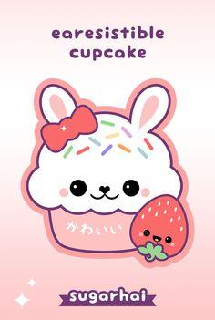 Funny, punny, bunny, cake is earesistible.