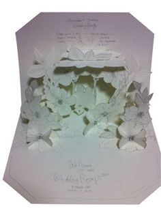 Hiromi Takeda's Pop-up 3d Cards, Pop Up Cards, Paper Cards, Up Book, Book Art, Scrapbook Paper, Scrapbooking, Pop Up Flowers, Paper Engineering