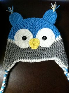 Crochet baby hat for boy by crochethat on Etsy, $18.00
