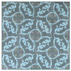 Cuban Heritage Cement Tiles CH240-2B