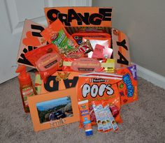 Orange Ya Glad We Love You missionary package
