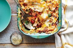 King Ranch Chicken - 26 Favorite Chicken Casseroles - Southernliving. Recipe: King Ranch Chicken  Hailing from an era when casseroles were king, this Tex-Mex dish still reigns supreme at everything from family dinners to church suppers and neighborhood potlucks. Though not an invention of the famed King Ranch--it's more likely the creation of a ladies' Junior League--the spicy flavors of chili powder, roasted peppers, and toasted cumin never fail to please. Seeded jalapeño and poblano…