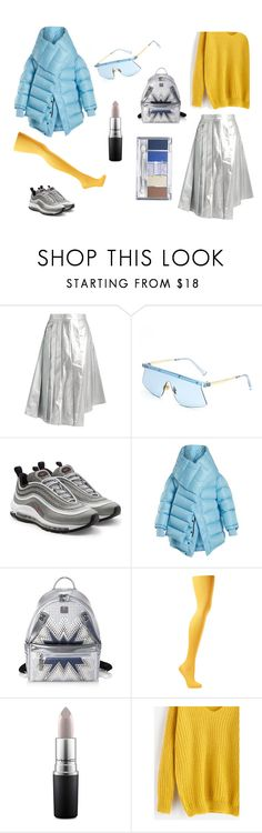 """""""My future now"""" by lida-shny on Polyvore featuring мода, A.W.A.K.E., NIKE, Balenciaga, MCM и MAC Cosmetics"""