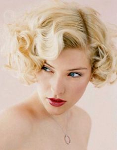 Flapper Girl Hairstyle