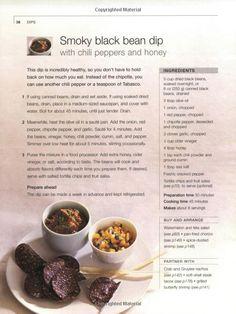 Smokey Black Bean Dip [from :Small Bites by Jennifer Joyce]