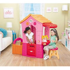 Lalaloopsy Playhouse! How can I not get this??! Doll comes with it!