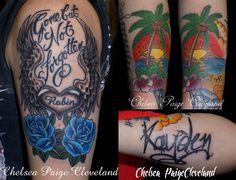 Want a tattoo or piercing in Vegas? Call or text me at 702-637-6726 #TattooArtist #Tattooist #TattooShop #TattooParlor #TattooStudio #LasVegas #Memorial #MemorialTattoo #WingedHeart #WingedHeartTattoo #Lettering #LetteringTattoo #Name #NameTattoo #Heart #HeartTattoo #Rose #RoseTattoo #BlueRose #BlueRoseTattoo #Hawaii #HawaiiScene #Sunset #SunsetTattoo #PalmTree #PalmTreeTattoo #BeachTattoo