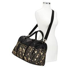 Mossimo Supply Co. Arrow Print Duffle Weekender Handbag with Removable Strap - Black?wid=280&hei=280