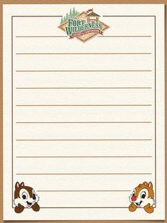 """Fort Wilderness - Project Life Journal Card - Scrapbooking. ~~~~~~~~~ Size: 3x4"""" @ 300 dpi. This card is **Personal use only - NOT for sale/resale** Logos/clipart belong to Disney. ***Click through to photobucket for more versions of this card :) ***"""