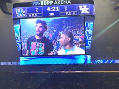 Willie Cauley-Stein had something to say to the crowd, especially for the five-star recruits in the stands.😊