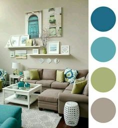 Taupe Living Room, Paint Colors For Living Room, Living Room Green, Living  Room