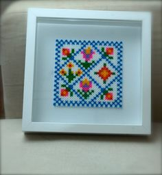 Hama beads folk picture by madpolka on Etsy