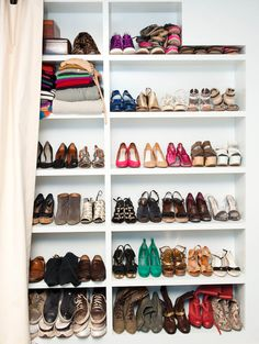 Meredith German's closet  http://thecoveteur.com/Meredith_German