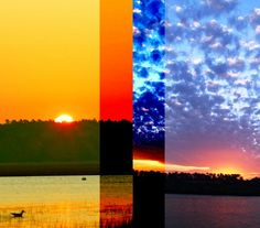 Light from Sunrise and Sunset – Change in the Present Moment Symphony (Portals 1-9)
