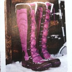 Snow boots! Yes please!