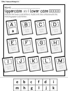 Back to school activities for kindergarten. Excellent math and literacy pack for morning work, centers and homework. #backtoschoolactivities #backtoschoolideas #kindergartenworksheets