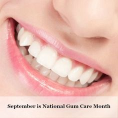September is #NationalGumCareMonth   Periodontal (Gum) disease is a chronic, bacterial infection caused by harmful dental plaque.  There is no known cure. Prevention is key.  Learn more and how you can prevent gum disease.  https://dentistryfortheentirefamily.com/gum-care/