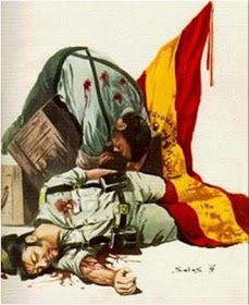 Foro de Cultura de Defensa: La HERÓICA DEFENSA del BLOCAO de DAR HAMED: LOS QUINCE DEL PATÍBULO. Special Forces, Madrid, Civilization, Spanish, Empire, Army, Military, Civil Wars, Painting