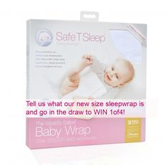 Enter to win: Safe T Sleep *mystery* size Sleepwrap | http://www.dango.co.nz/pinterestRedirect.php?u=Bm0sxJ4P4155