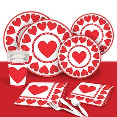 Sweet love party supplies - Valentine's Day Party Decorations - Holly Day