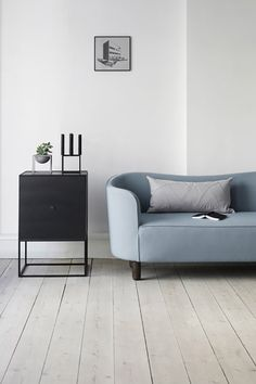 Grayblue sofa