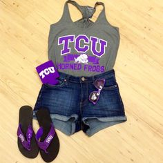 Summer may be winding down but our spirit isn't! We've got the perfect tanks and accessories to keep you cool in this hot Texas sun! ☀️ #MyRallyHouse  @RallyHouseTexas #GoFrogs #tcu #tcu19 #big12 #fearthefrog