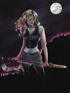 Buffy by =elyjenna on deviantART.