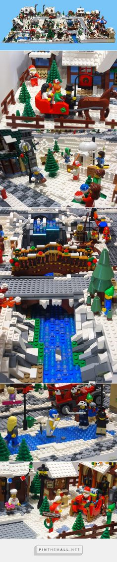 [MOC] Winter Village Display. - LEGO Town - Eurobricks Forums