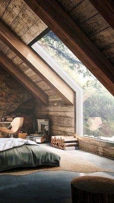 Dream Home Design, My Dream Home, Home Interior Design, House Design, Modern Cabin Interior, Modern Japanese Interior, Cabin Design, Design 24, Design Ideas