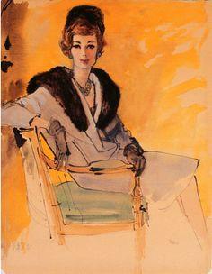 By René Robert Bouché (1905-1963).