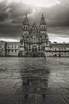 Santiago de Compostela Cathedral by Carlos Gotay on 500px