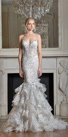 Stunning Pnina Tornai Wedding Dresses 2017 ❤ See more: http://www.weddingforward.com/pnina-tornai-wedding-dresses/ #weddings