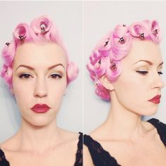Pin curls and fingerwaves on Pinterest