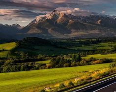 Krivan peak, the symbol of Slovakia It´s a great place for hiking trip!  #liptov #hightatras