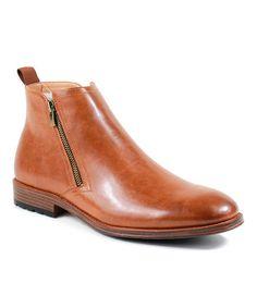Camel Andrew Zip-Up Boot #zulily #zulilyfinds