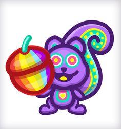 Meet SqUirLz! O‿O Chipmunks, Squirrel, Cool Stuff, Children, Illustration, June, Meet, Young Children, Boys
