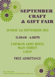 September Craft & Gift Fair September Crafts, Cyber Monday Specials, Event Organization, Craft Gifts, Events, How To Make, Kid Craft Gifts
