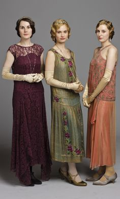Mary, Rose and Edith | Downton Abbey