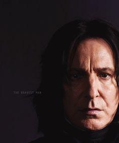 the bravest man #Snape #Harry potter