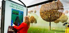 Gaming on Bus Stops, providing high engagement- Lloyds' interactive campaign | JCDecaux