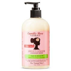 Camille Rose Naturals Sweet Ginger Cleansing Rinse - 8 oz