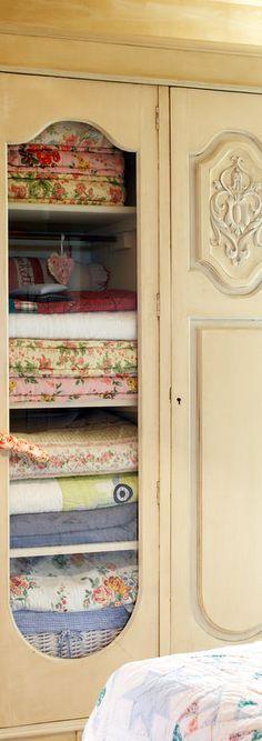 Vintage Linen Closet | Awesome Decor | Pinterest | Linens, Vintage And  Shabby