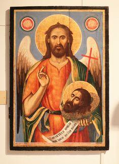 Saint John, Orthodox Icons, Nursing, Medical, Painting, Art, Saints, Art Background, San Juan