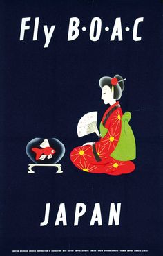 BOAC - Japan, ca. 1960