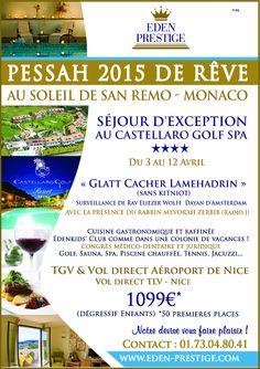 PESSAH 2015 VACANCES GLATT CACHER PESSAH 2015 SEJOUR DE REVE :: Pessah 2015 Vacances Pessah 2015 Glatt Cacher