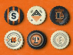Vintage Bottle Cap Poster spelling »Salute«.  Posters with more laguages coming soon.