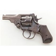 Snubnose Short-Grip Webley MK VI Double Action Revolver