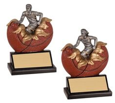 Features a player bursting out of a hand painted basketball. Includes a personalized engraving plate with 3 lines of engraving. 30 characters/spaces per line. Basketball Trophies, Basketball Awards, How To Memorize Things, Plate, Characters, Hand Painted, Spaces, Dishes, Plates
