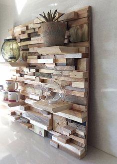 Декор для дома своими руками - полка. Организация пространства, хендмейд идеи #декор #своимируками #хендмейд
