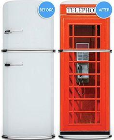 "Door Wall Fridge VINYL STICKER or not sticky PAPER London Telephone Box Phone booth poster 30x80""(77x203 cm) (Paper) Pulaton http://www.amazon.com/dp/B00OFBZCUS/ref=cm_sw_r_pi_dp_wcapub0AP7JEC"